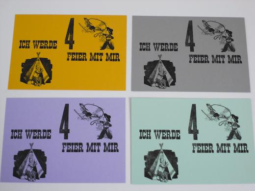 Handabzüge - letterpress
