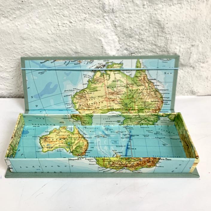 Australien Etui in Mint-Frost