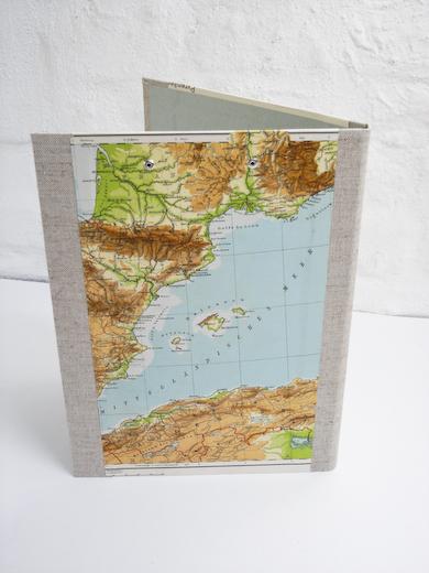 Mittelmeer feeling auf der A4 Mappe