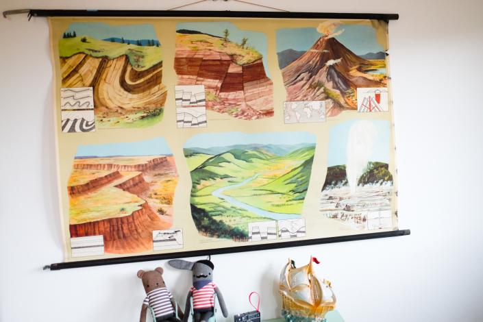 geologische Strukturen, Verwerfungen und Brüche