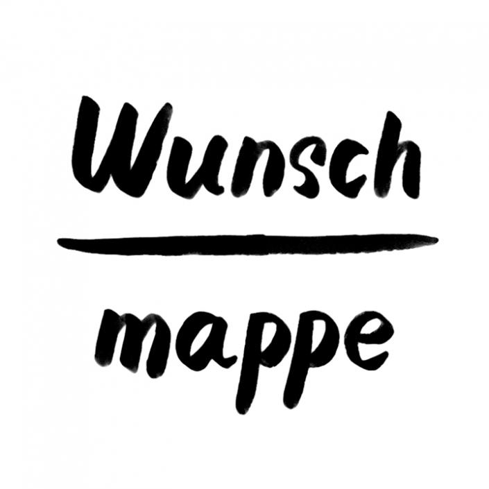Wunsch Mappe in A4