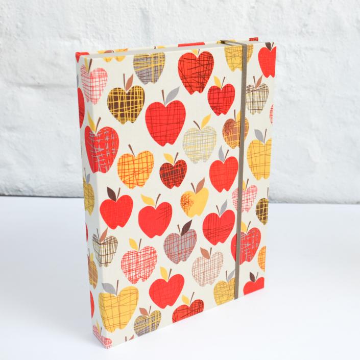 A4 Dokumentenbox Apfel