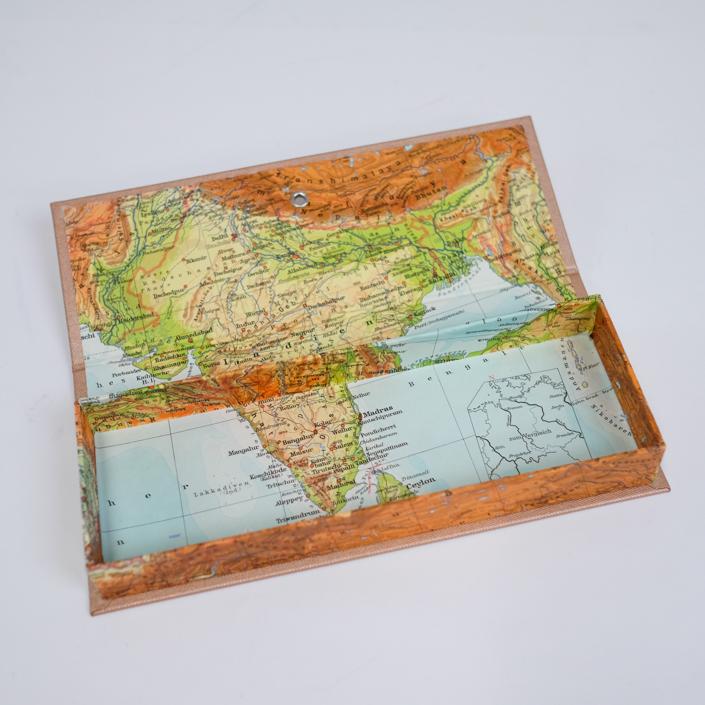 Indien Federtasche mit Ceylon