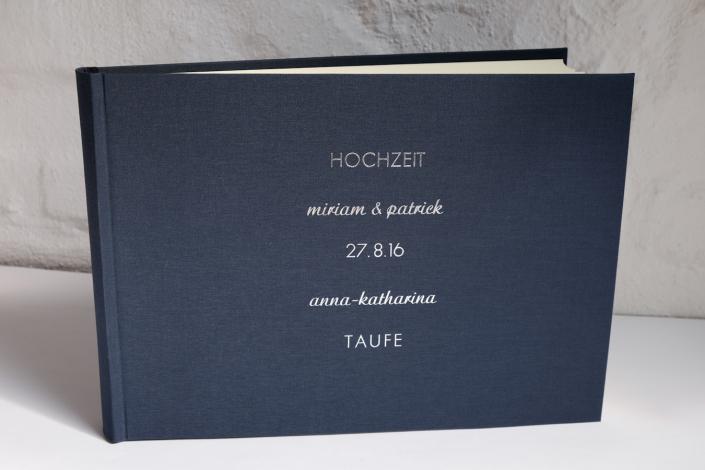 Album in 24x35 cm rauchblau