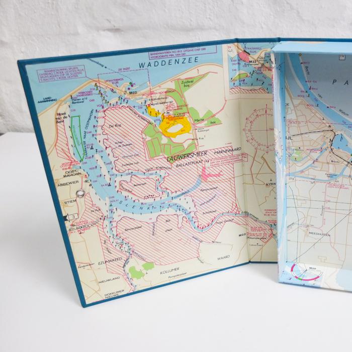 A5 Kiste mit Waddenzee und Weiwerd