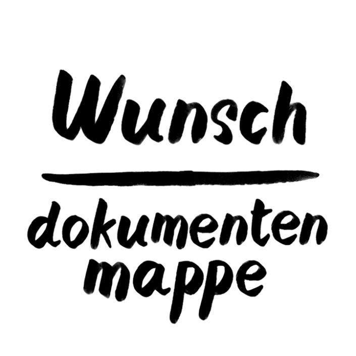 Wunsch Dokumentenmappe in Din A4